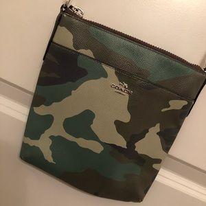 Coach Camo CrossBody Bag